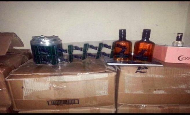Urfa'da, Sahte içkiye 3 tutuklama