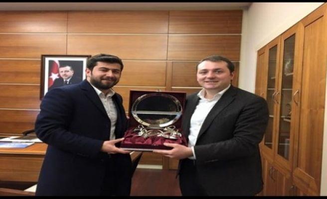 Ertürk'ten, Başkan Ecertaş'a ziyaret
