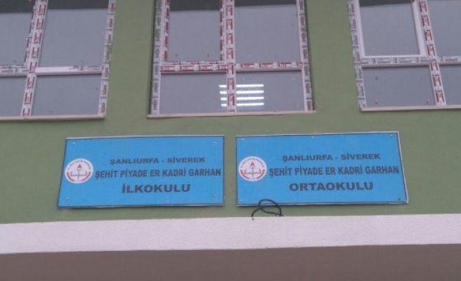 Eskihan'da yapılan okula şehit ismi verildi