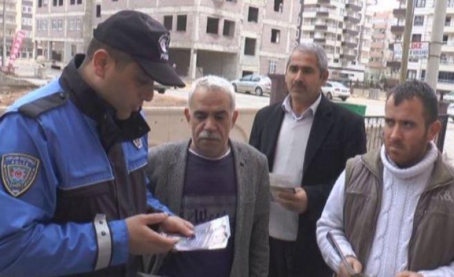 Polis, hırsızlığı engellemek için devreye girdi