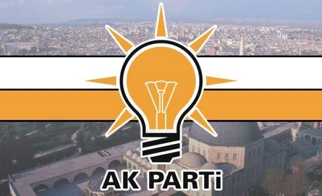 Urfa AK Parti'de yeniden görev dağılımı