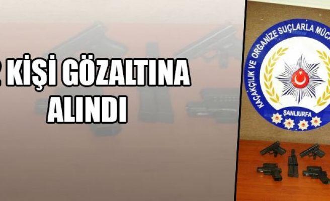 Urfa'da ruhsatsız silah operasyonu