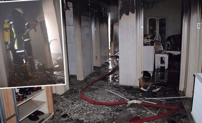Şanlıurfa'da mesken yangını