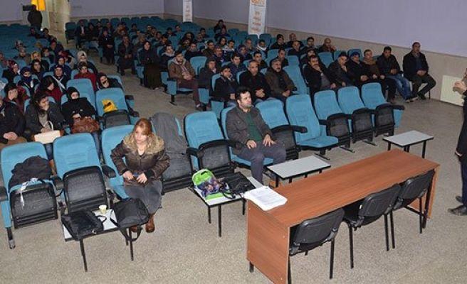 Siverek'te İş güvenliği semineri düzenlendi
