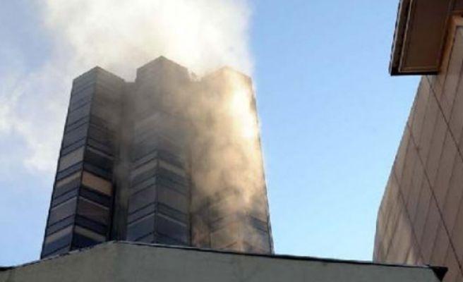 Fire breaks out in Taksim's central building