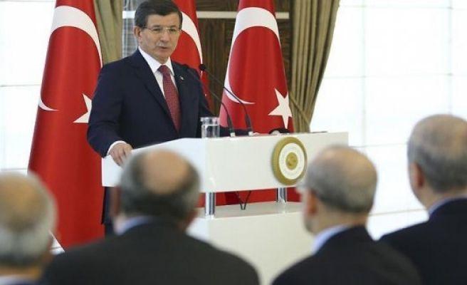 Turkey fighting terror on three fronts, Davutoglu says