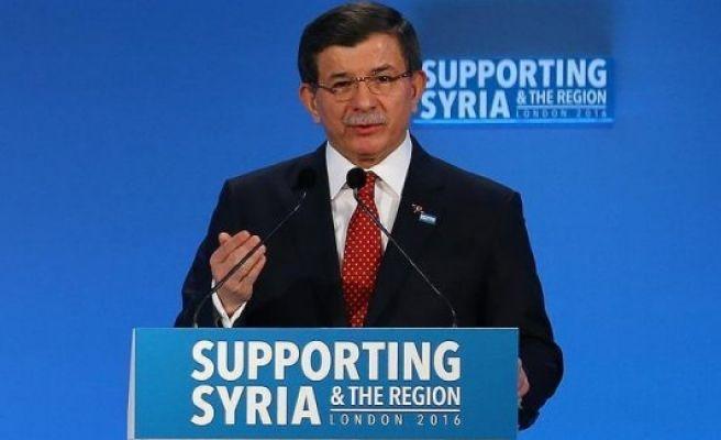 Assad regime and Daesh 'enemies of humanity': Turkish PM