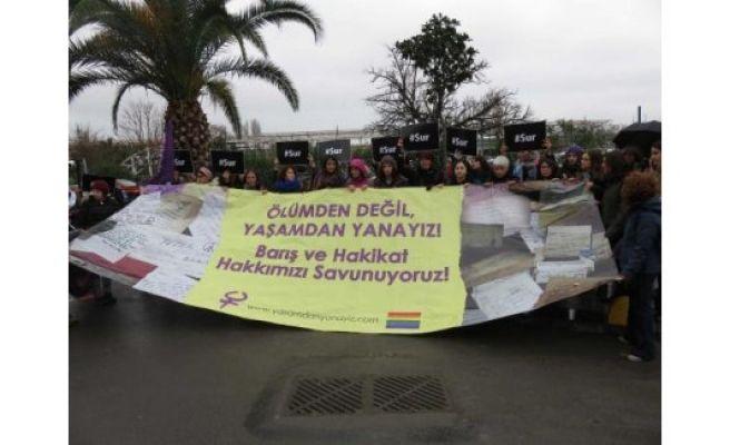 "Women head to Diyarbakır for ""peace guard"""
