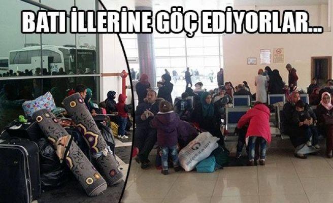 Türkmenler Urfa'yı da terk ediyor…
