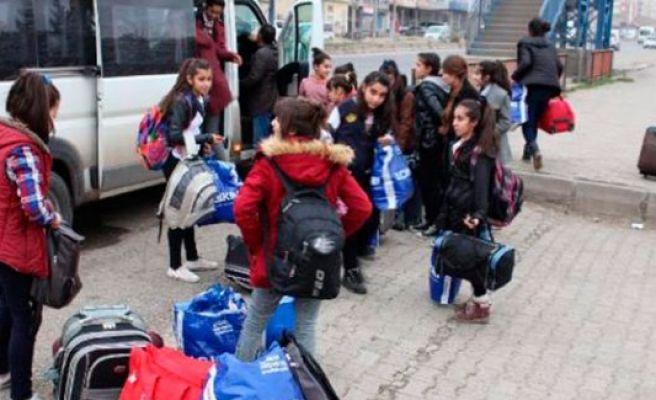 Telafi eğitimine gönderilen öğrenciler geri döndü