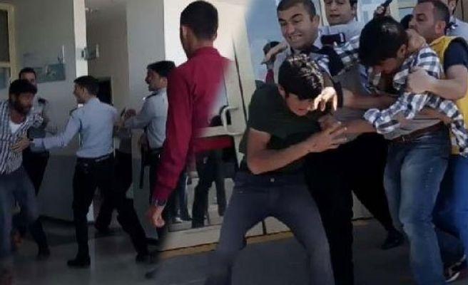 Urfa Hastanesinde kavga