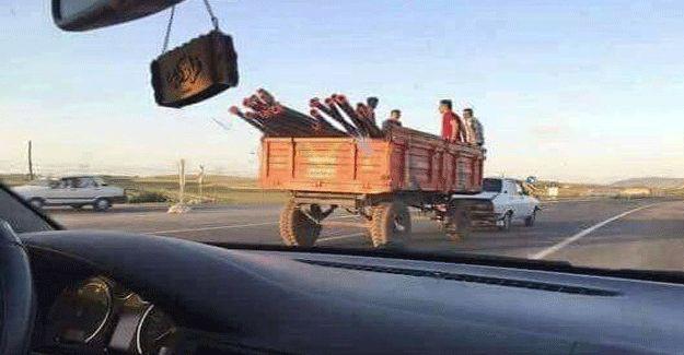 Urfa'nın Toros'u bu kez traktör görevinde