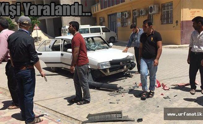 Urfa'da otomobil ile motosiklet çarpıştı