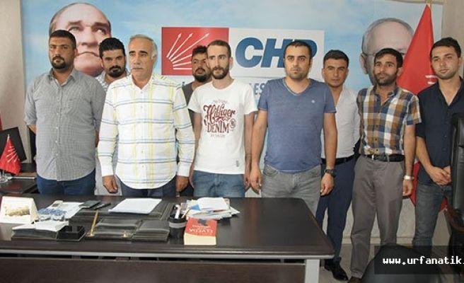Urfa CHP'ye çevre illerden destek ziyareti