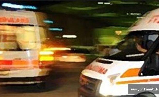 Adıyaman Urfa Yolu'nda kaza: 1 ölü 7 yaralı