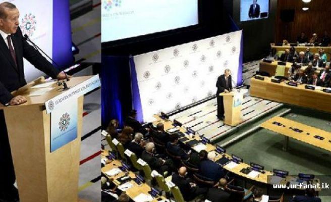 Erdoğan BM'de konuştu