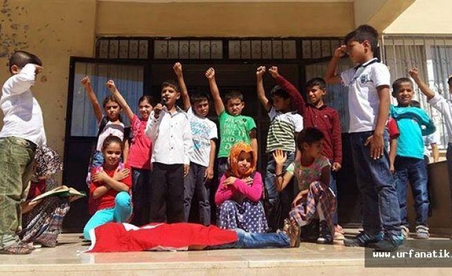 Urfalı öğrencilerden muhteşem anma programı