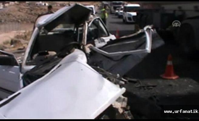 Viranşehir'de kaza 2 ölü 5 yaralı