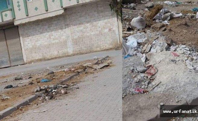 Suruçlular çöpün toplanmasını istiyor