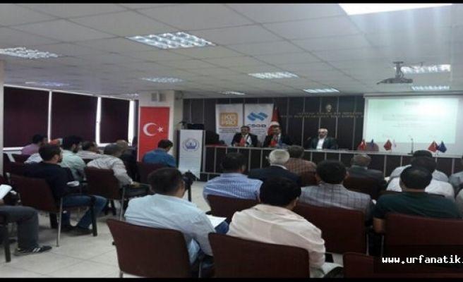 Urfa'da 3 Bin 895 esnafa eğitim ve seminer