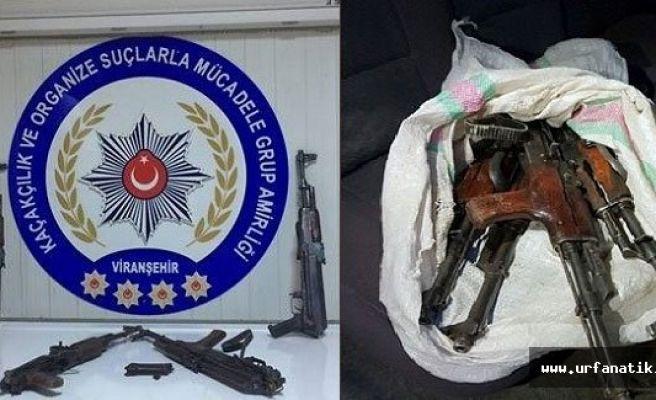 Şanlıurfa'da 4 uzun namlulu silah ele geçirildi