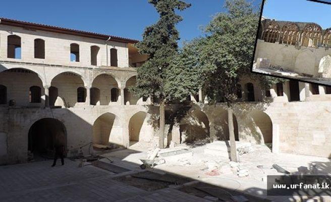Barutçu Hanı'ndaki restorasyonda son durum
