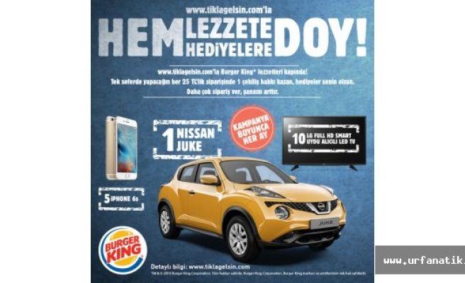 Burger King ve Popeyes Nissan Juke Çekiliş Sonuçları