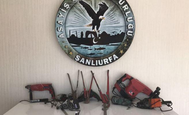 Şanlıurfa'da 60 Kişi Hırsızlıkdan Tutuklandı
