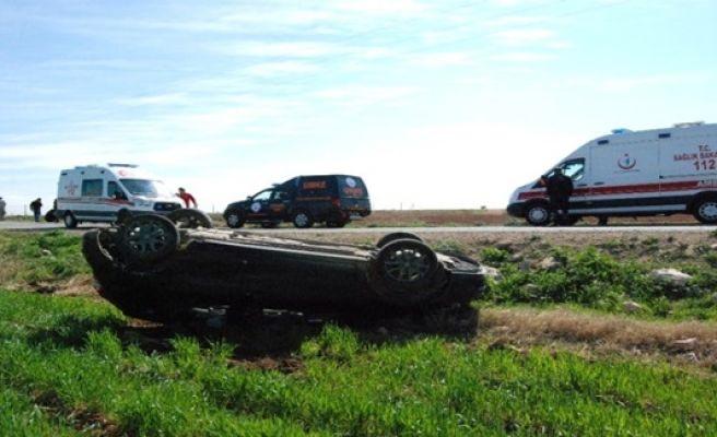 Şanlıurfa Göbekli Tepe Kavşağı'nda Kaza 3 yaralı