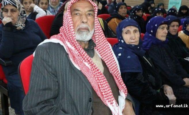 Şanlıurfa'da Yaşlılar Haftası kutlamaları