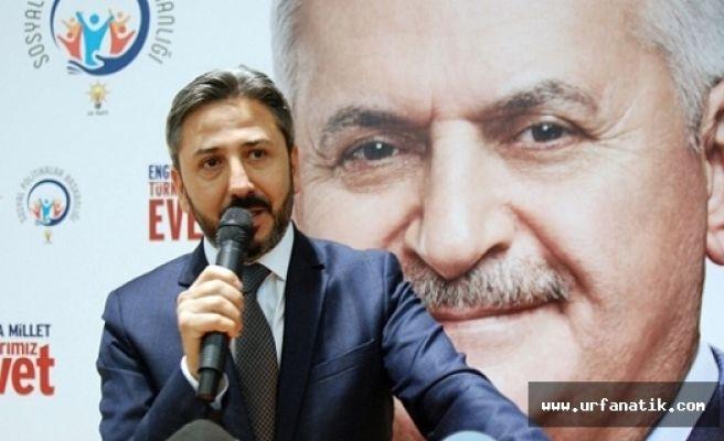 TBMM Başkan Vekili Ahmet Aydın Şanlıurfa'ya Geliyor
