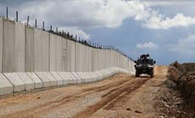 Suriye Sınırına Örülen Güvenlik Duvarı