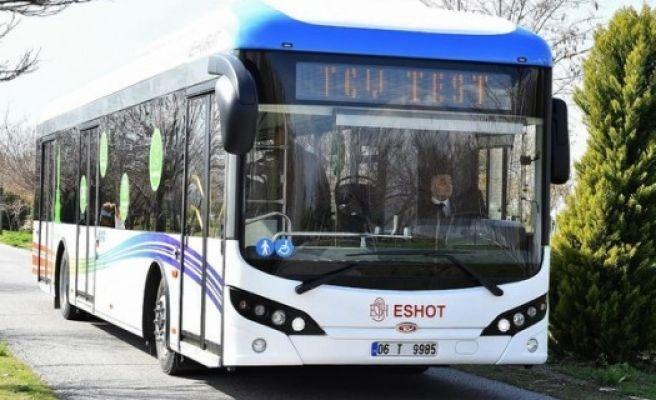 Full Elektrikli Otobüsler Hizmete Girdi