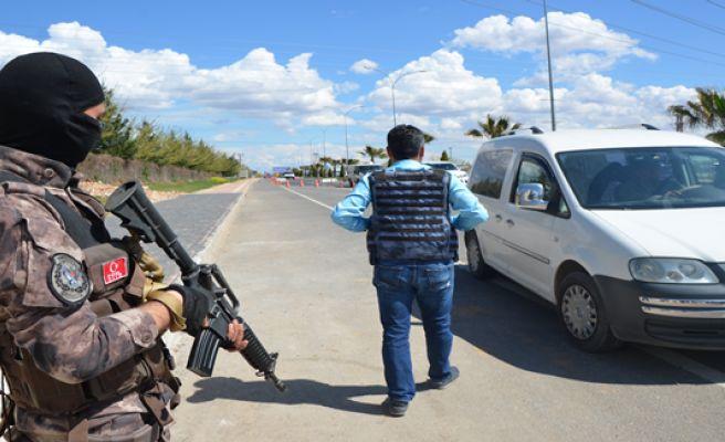 Urfa'da 4 Nisan Önlemleri
