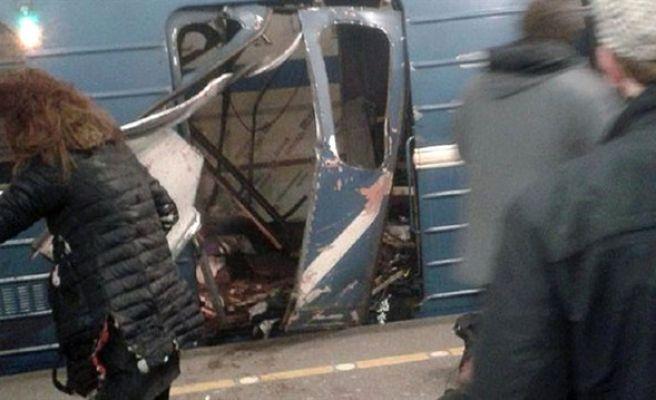 Rusya'da metroda patlama!