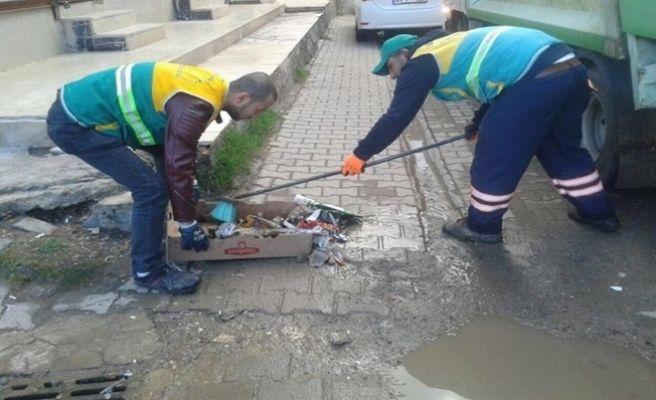 Viranşehir'de Bahar Temizliğine Başladı