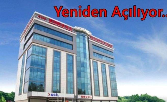 Edessa Hastanesi Yeniden Açılıyor