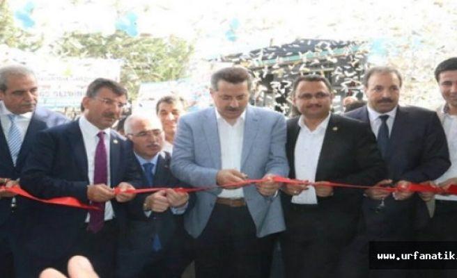 Bakan Çelik Çok Amaçlı Salonların Açılışını Yaptı