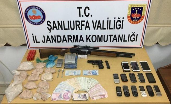 İl Jandarma Komutanlığı'ndan Uyuşturucu Baskını