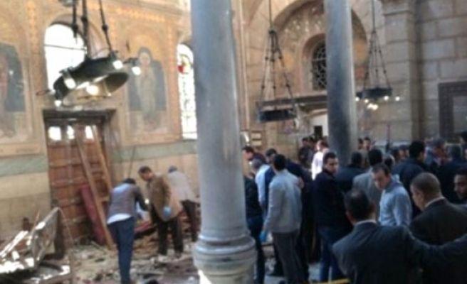 Mısır'da Bir Kilisede Daha Patlama Meydana Geldi! Ölü Sayısı Artıyor