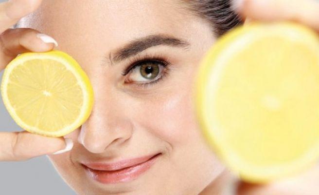 Limonla Bembeyaz Bir Cilt