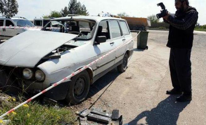 Kaza Yapan Otomobilden Kaçak Sigara Çıktı