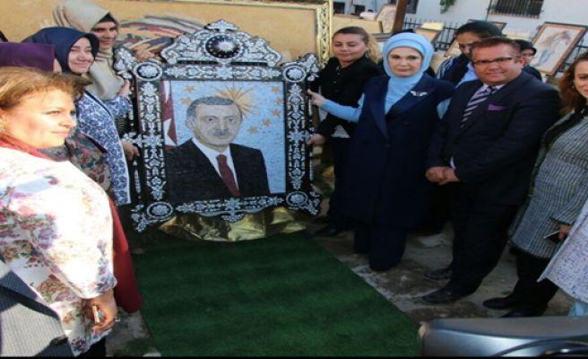 Emine Erdoğan, Urfa'da Sanat Sokağı'nın Açılışını Yaptı
