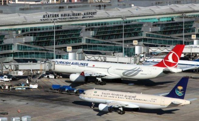 Atatürk Havalimanı Çevresinde Drone Alarmı