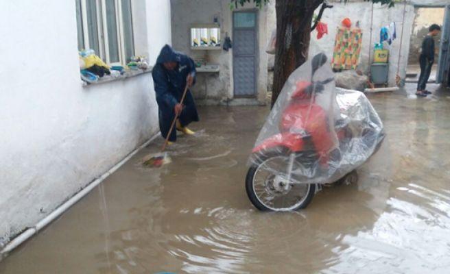 Şanlıurfa'da Çok Sayıda Evi Su Bastı