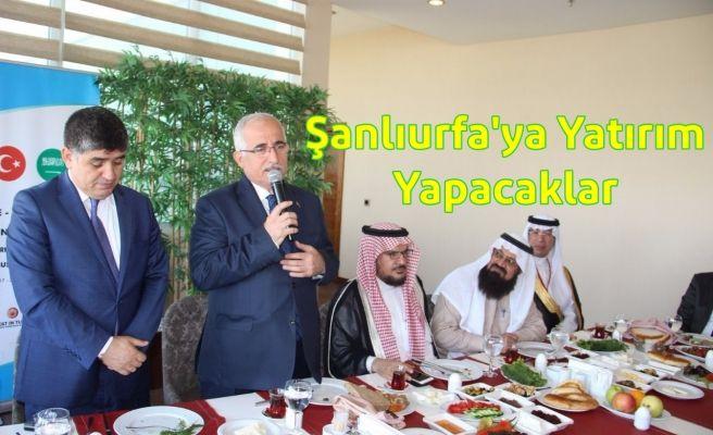 Arap Kralları'ndan Şanlıurfa'ya Büyük Jest