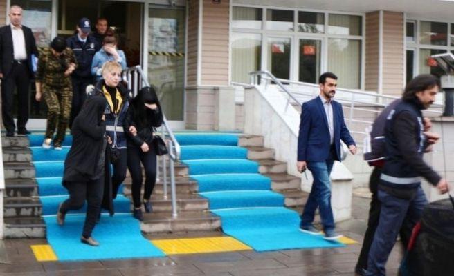 Gaziantep'te Fuhuş Operasyonu: 9 Gözaltı