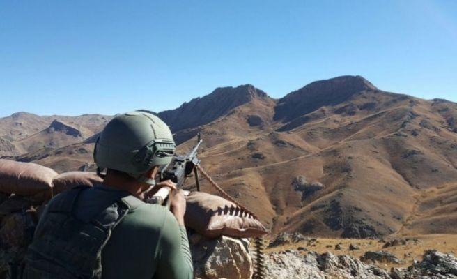 Şırnak'da Çatışma 1 Asker Şehit