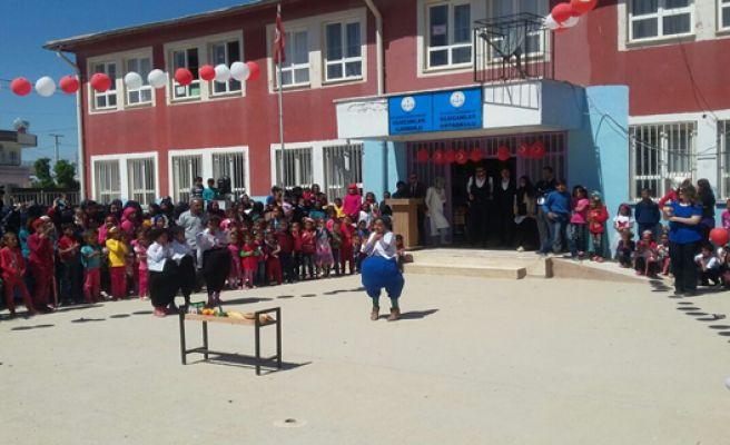 Ulucanlar'da 23 Nisan etkinliği coşkulu geçti
