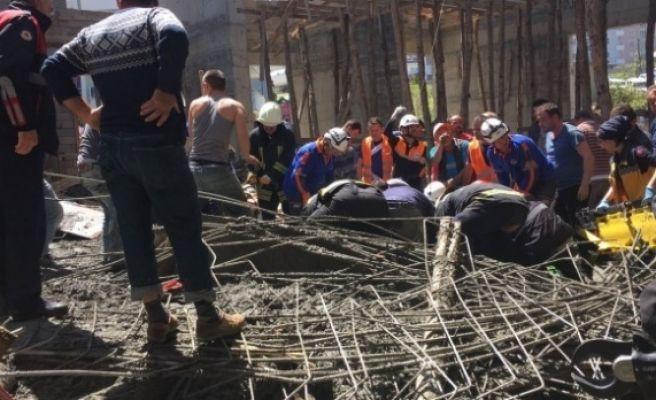 Samsun'da Cami İnşaatı Çöktü: 6 Kişi EnKaz Altında Kaldı